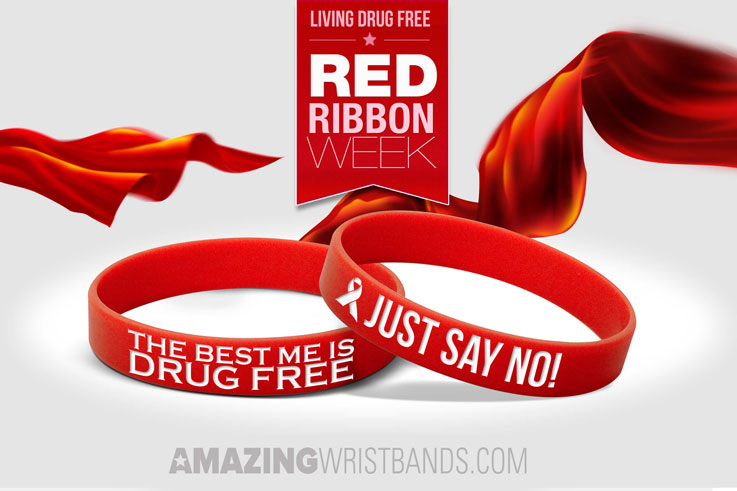 How To Promote Red Ribbon Week With Wristbands?