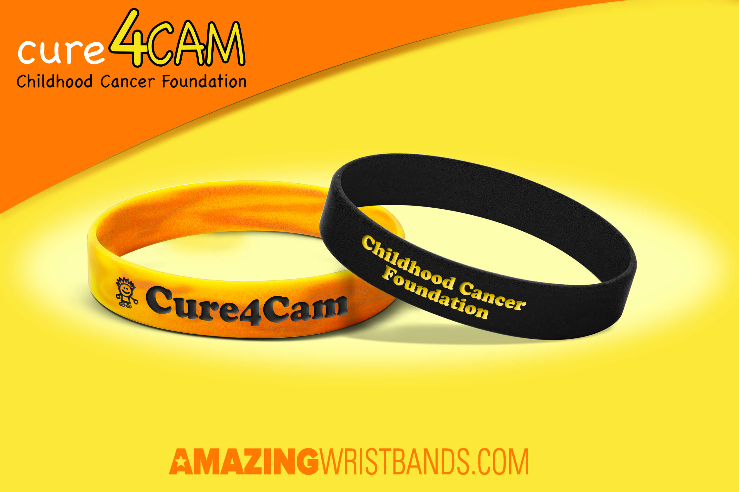 rubber shop wristband action cancer support us pancreatic charity bracelet wristbands