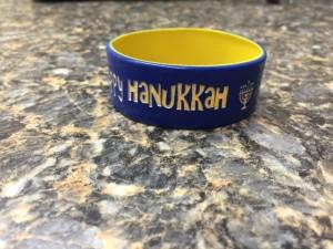 Gift Hanukkah Wristbands