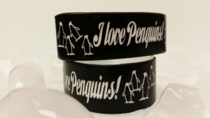 Custom Penguins Wristbands