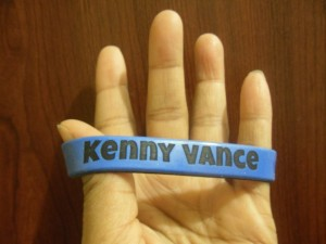 Kenny Vance Fan Club Wristbands