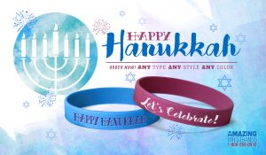Colorful Hanukkah Bands