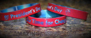 Presidents Day Wristbands