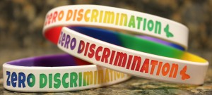 Zero Discrimination Day Wristbands