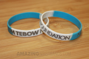Tim Tebow Foundation Night to Shine Wristbands