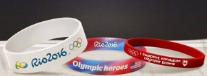 Design Olympic Wristbands