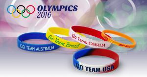 Custom Olympic Bracelets