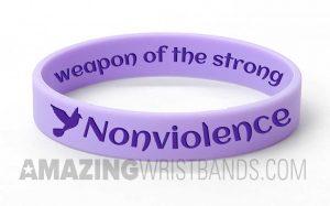 Support Non-Violence Bracelets