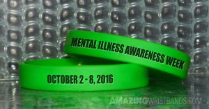 Green Standard Wristbands