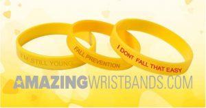 Fall Prevention Awareness Wristbands