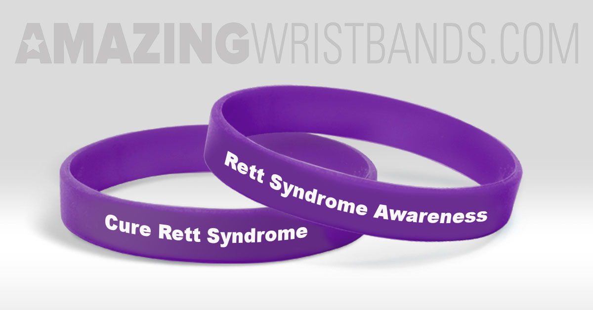 support rett syndrome awareness with purple wristbands blog updates