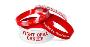 Oral Cancer Awareness Wristbands