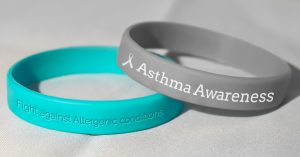 Wristbands to support Asthma and Allergenic Conditions