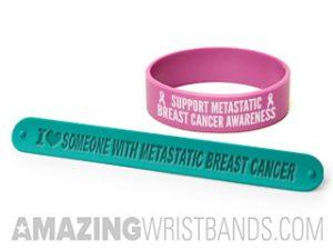 Metastatic Breast Cancer Wristbands