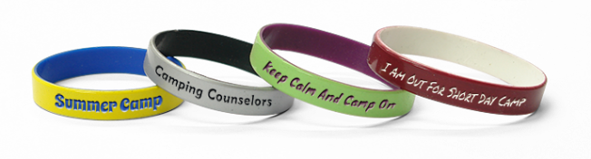 Wristbands To Support Camps