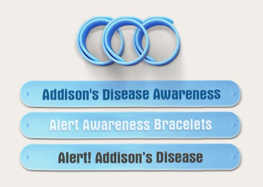 Addison's Disease - Medical Alert Bands