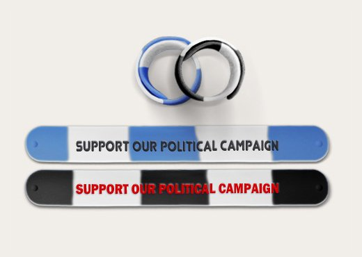 Slap Bands To Support Political Fundraising