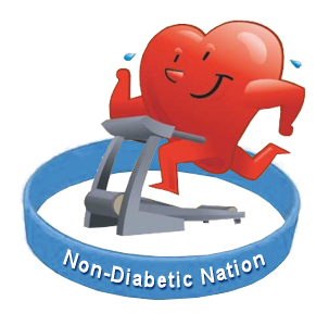 Blue Wristband To Support Non-Diabetic Nation