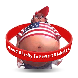 Red Wristbands With Obesity Awareness Message