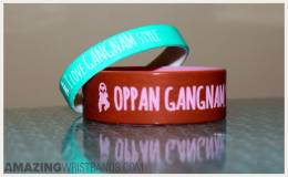 Passionate Gangnam Style Wristbands