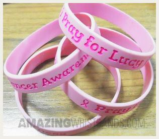 Wristbands for Charitable Causes