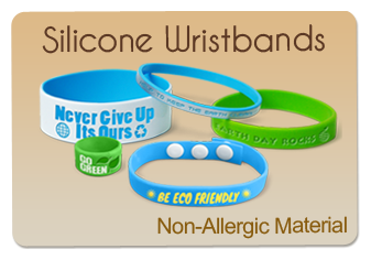 Various Types Of Silicone Wristbands