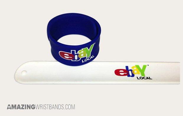 Ebay Promotional Slap Bands