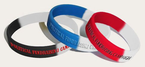 Standard Political Fundraising Wristbands