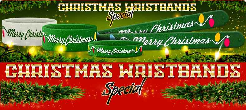 Christmas Wristbands Collection
