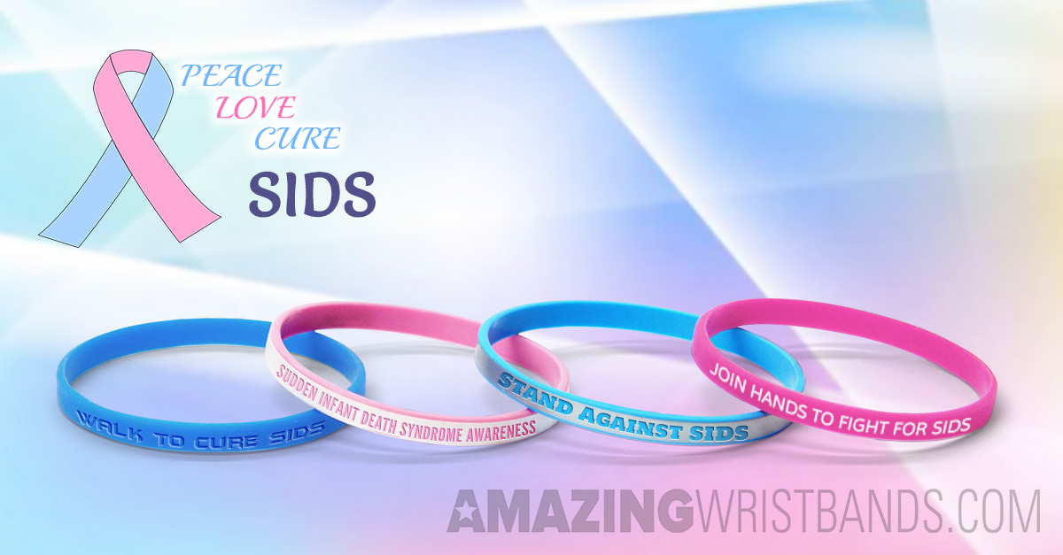 Best Way To Support Sids Awareness With Custom Wristbands