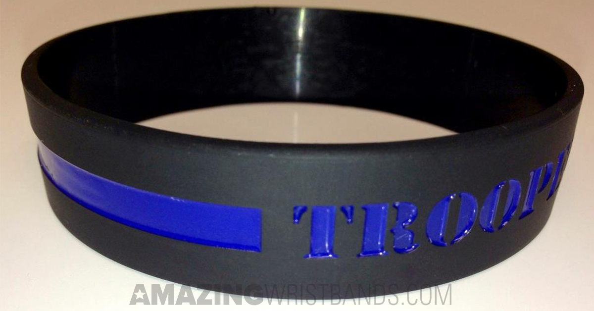 What Does Thin Blue Line Wristbands Represent Design Now