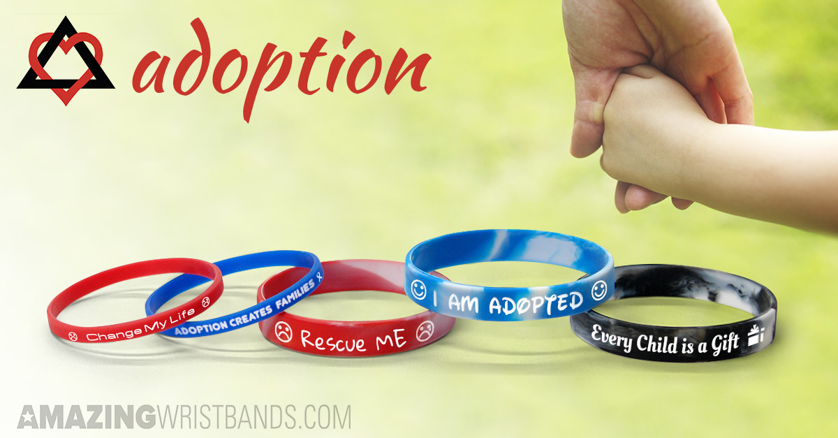 Adoption Wristbands