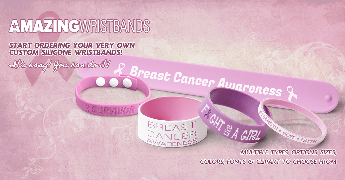 Breast Cancer Awareness Bands