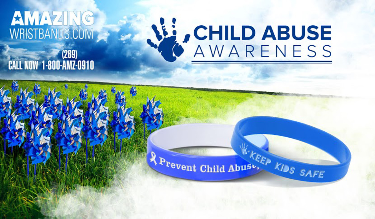 Child Abuse Awareness Wristbands To Show Your Support