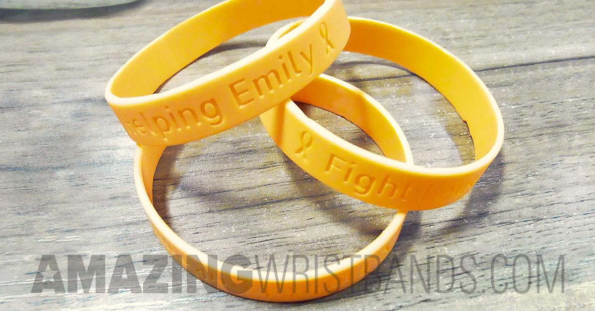 Ewing Sarcoma Awareness Bands