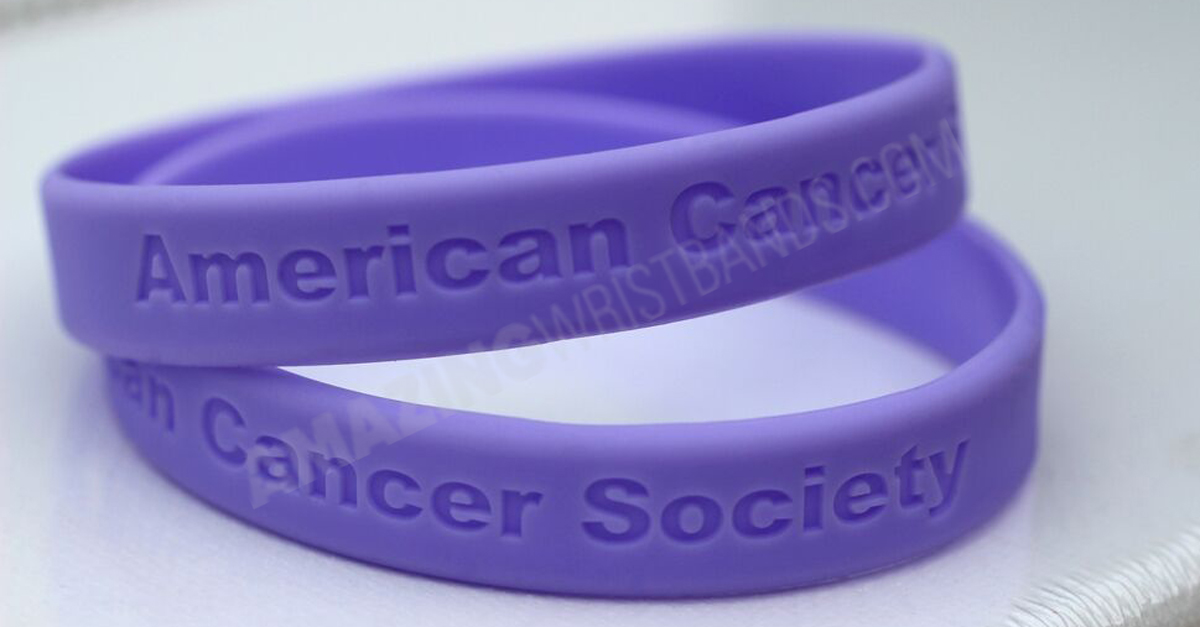 Cancer Society Wristbands