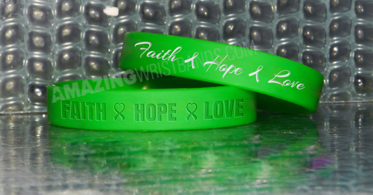 Green Awareness Bracelets