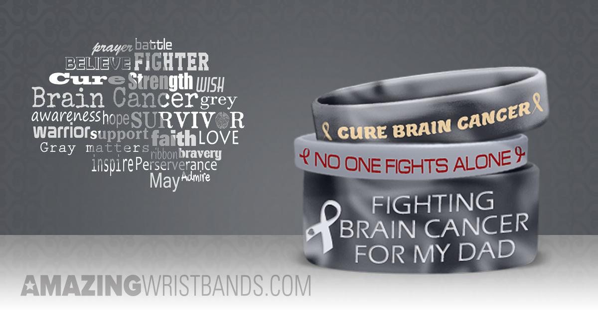 b68d42293b3 Custom Wristbands To Raise Awareness For Glioblastoma