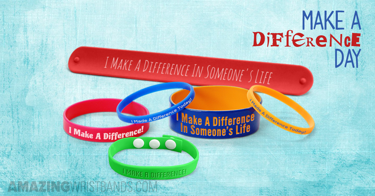 Make a Difference Day Wristbands