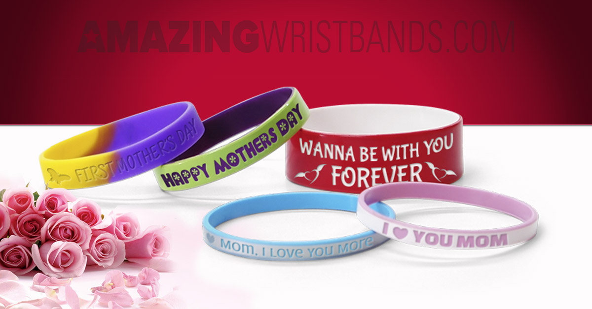 Personalized Mother's Day Wristbands
