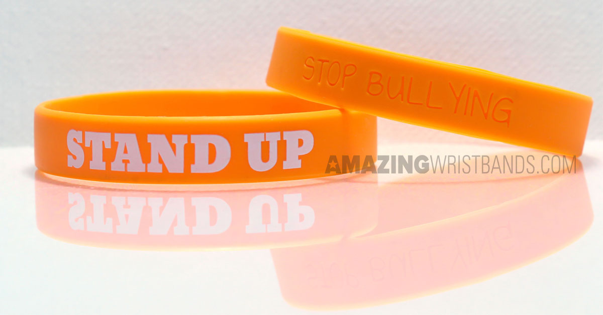 Orange Color Wristbands