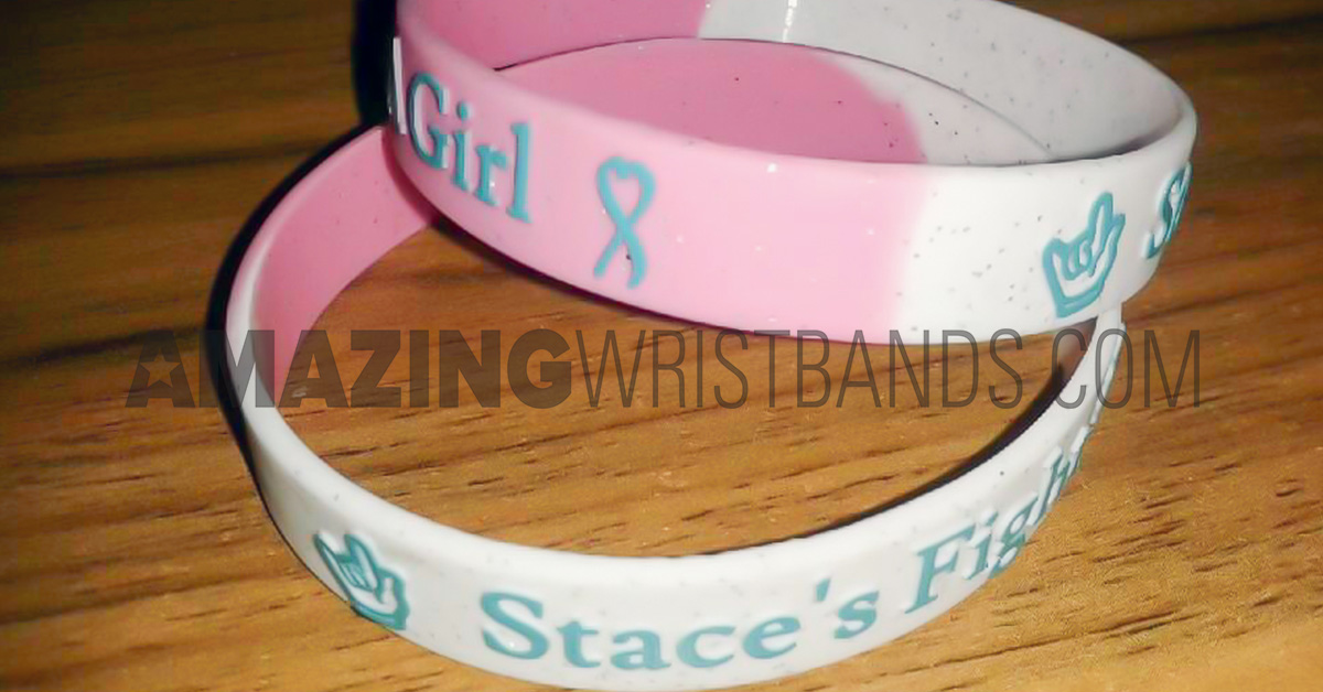 Cancer Awareness Month Wristbands