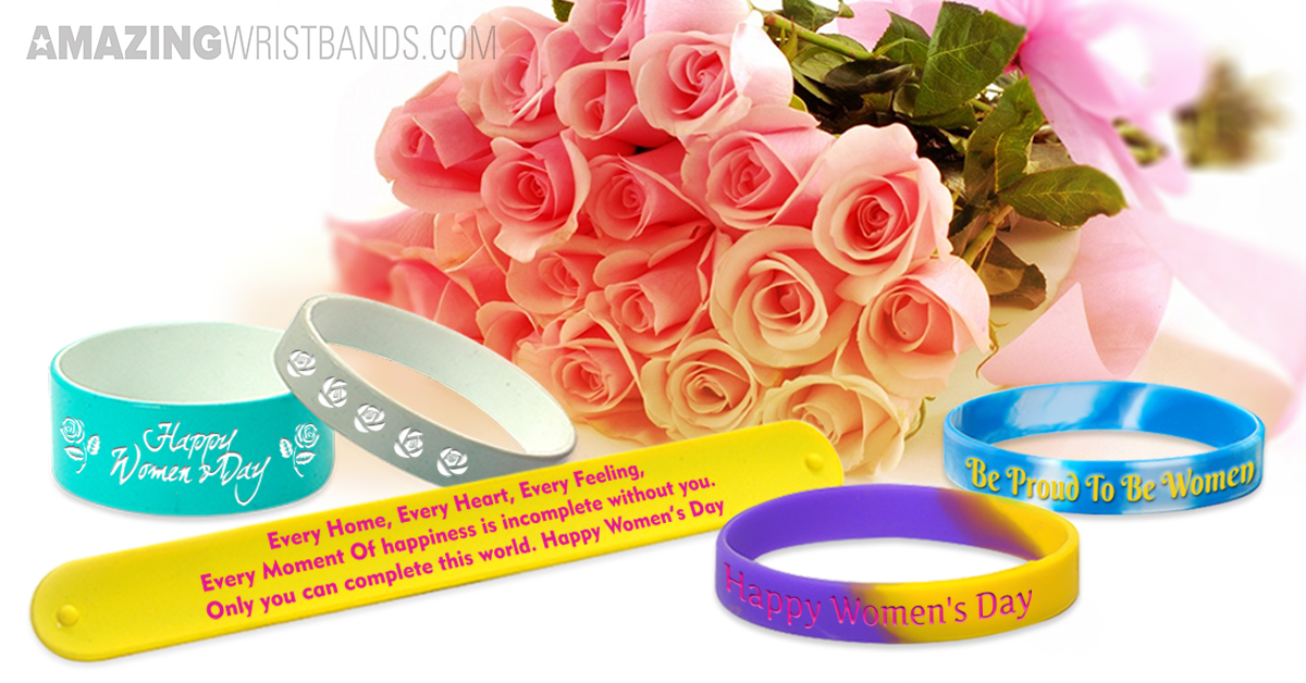 International Women's Day Wristbands